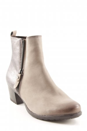 Tamaris Ankle Boots Animalmuster Street-Fashion-Look