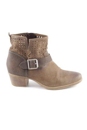 Tamaris Low boot brun style décontracté