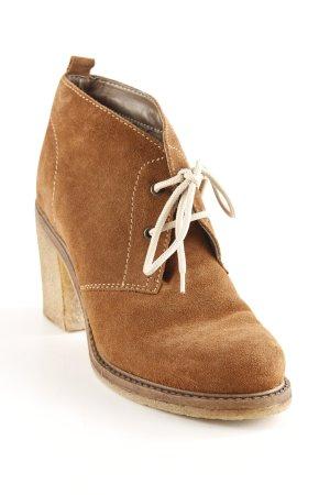 Tamaris Ankle Boots cognac-camel schlichter Stil