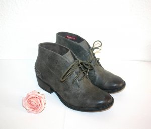 Tamaris Ankle Boots gr.37 Grau Meliert Nieten Besatz