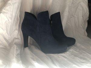 Tamaris Ankle Boots High Heels oceanblau
