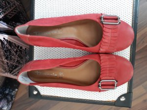 Tamaris Slippers bright red