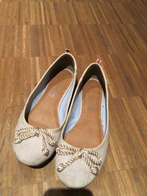 Tamaris Slingback Ballerinas beige