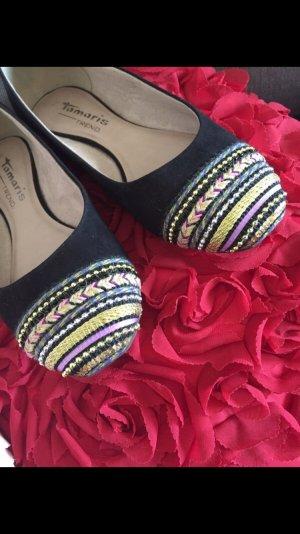 Tamaris Ballerina neu mit Perlen