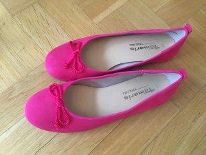 Tamaris Ballerina pink Gr 39 wie 38 - wie Neu!