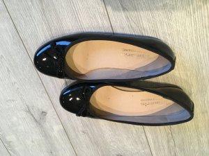 Tamaris Ballerina schwarz Lack Größe 40