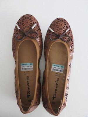 Tamaris Mary Jane Ballerinas multicolored leather