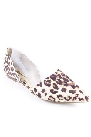 Tamaris Ballerinas with Toecap leopard pattern