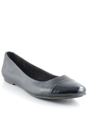 Tamaris Ballerinas mit Spitze schwarz Casual-Look