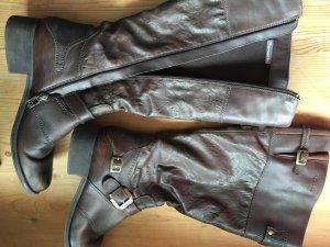 Tamaris Biker Boots Stiefel braun Gr. 40