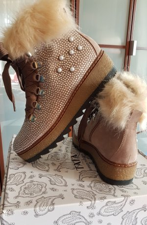 Tamaris Desert Boots beige mixture fibre