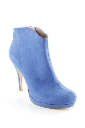Tamaris Booties blau Street-Fashion-Look