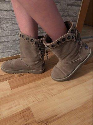 Tamaris Snow Boots grey brown