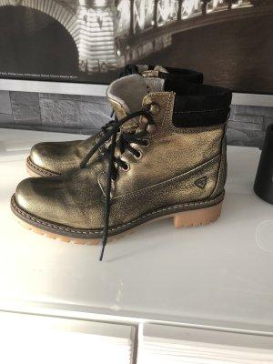 Tamaris Boots Gold