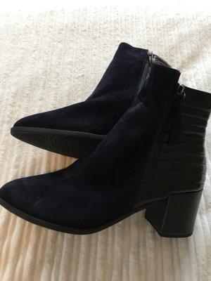 Tamaris Boots neu schwarz blau