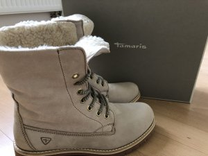Tamaris Bottes de neige beige clair