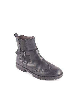 Tamaris Boots schwarz Schnallenelemente