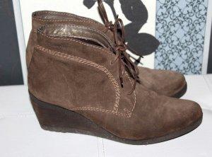 Tamaris Boots Stiefelette 41 Altbraun