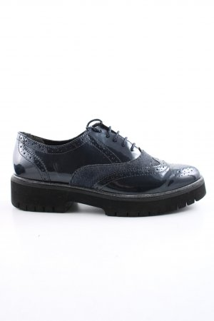 Tamaris Budapest schoenen blauw zakelijke stijl