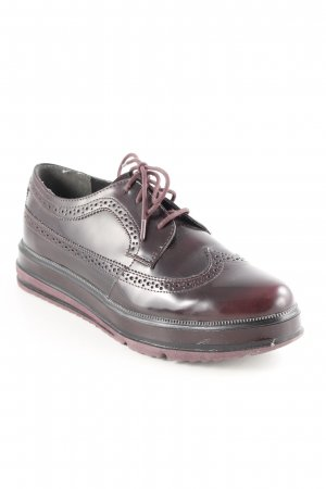 Tamaris Zapatos Budapest rojo zarzamora elegante