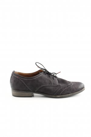Tamaris Wingtip Shoes dark blue business style