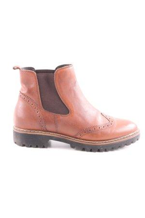 Tamaris Chelsea Boot brun style décontracté