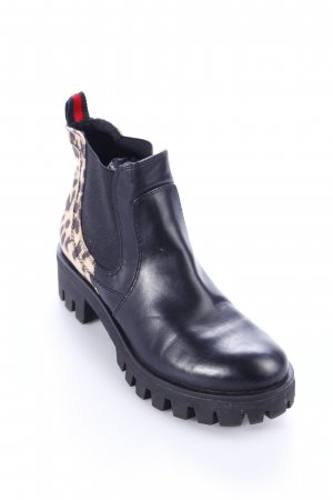 Tamaris Chelsea Boots Animalmuster Animal-Look