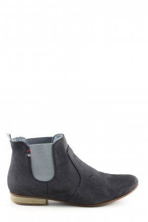 Tamaris Chelsea Boots blue business style