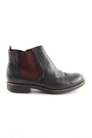 Tamaris Chelsea Boots black casual look