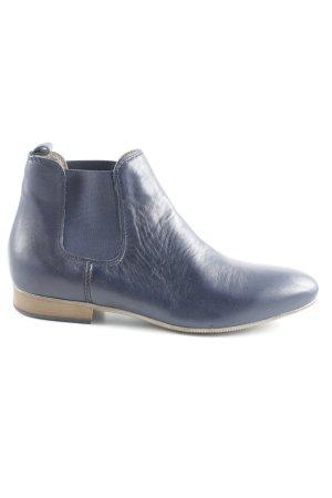Tamaris Chelsea Boots neon blue-cream casual look