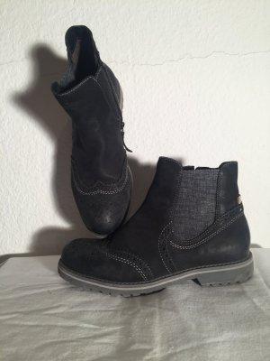 Tamaris Chelsea Boots dunkelblau Casual-Look