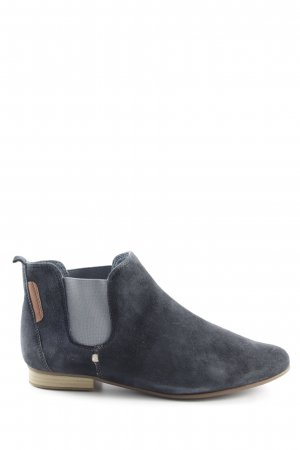 Tamaris Chelsea Boots dark blue-azure casual look