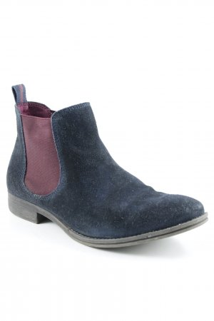 Tamaris Chelsea laarzen donkerblauw-violet casual uitstraling
