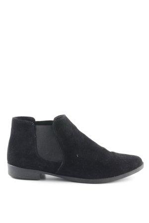 Tamaris Chelsea Boots schwarz Casual-Look
