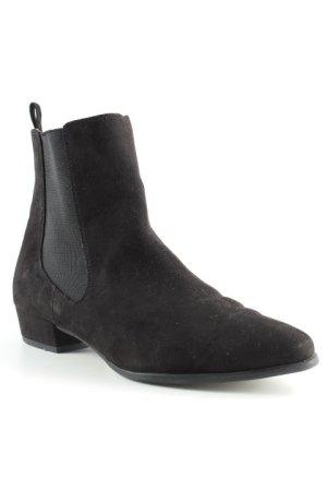 Tamaris Chelsea laarzen zwart casual uitstraling