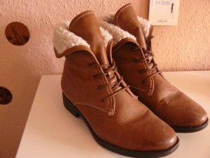 Tamaris cognacafarbene Boots