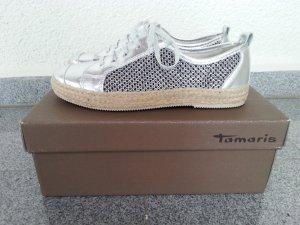 Tamaris coole Sneaker Gr.38 silber neu