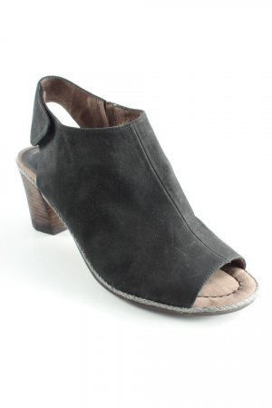 Tamaris Cut-Out-Stiefeletten schwarz Casual-Look