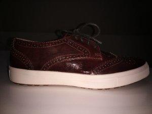 Tamaris Damen Sneaker Gr.38 in Rot (Bordeaux)