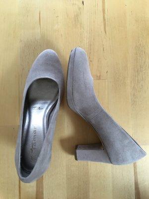 Tamaris High Heels oatmeal-nude imitation leather