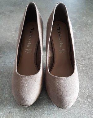 Tamaris High Heels grey brown