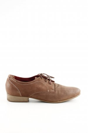 Tamaris Derby bronze-colored business style