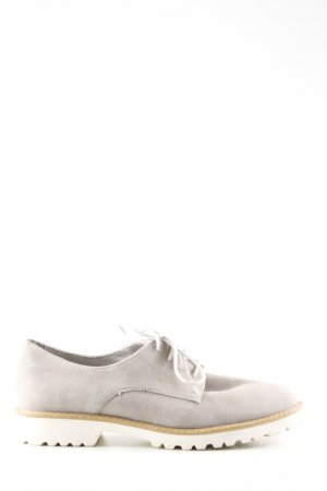 Tamaris Derby natural white business style
