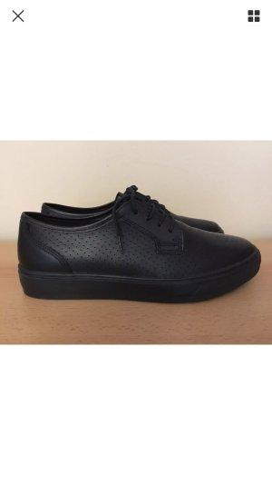 TAMARIS Echt Leder Sneakers / Halbschuhe Schwarz Gr.39, NEU mit Etikett!