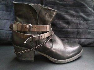 Tamaris Bottines noir-argenté