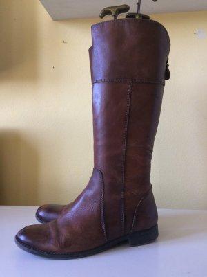 Tamaris Botas de equitación marrón Cuero