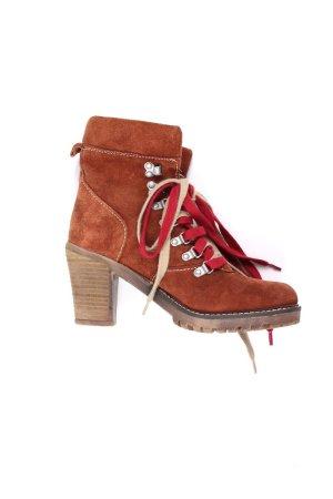 Tamaris Booties russet-dark red