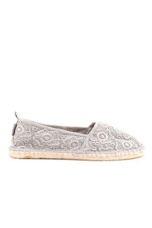 Tamaris Espadrille Sandals light grey casual look