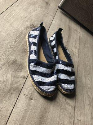 Tamaris Espadrille Sandals dark blue-white