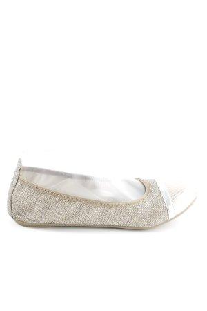 Tamaris Foldable Ballet Flats cream casual look